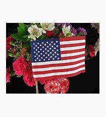 Happy Memorial Day Photographic Print