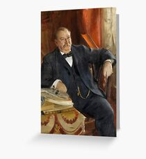 Anders Zorn, Grover Cleveland Greeting Card