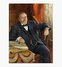 Anders Zorn, Grover Cleveland Photographic Print