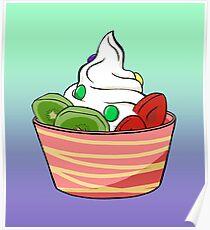 Frozen Yoghurt Poster