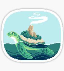 Gentle sea monster (Pixel) Sticker