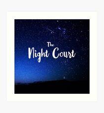The Night Court Art Print