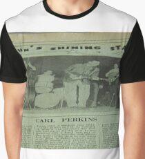Carl Perkins, Sun's Shining Star Graphic T-Shirt