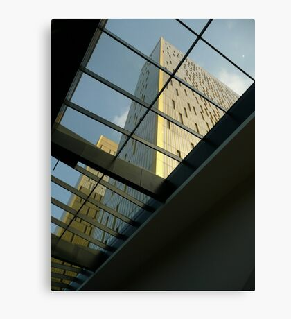 Bring in the light - contemporary architecture  Canvas Print