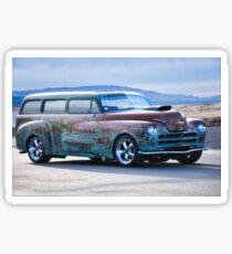 Plymouth 'Patina' Wagon Sticker