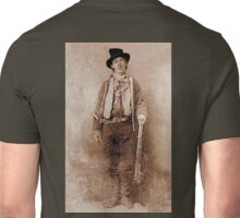 WANTED, Billy the Kid, Henry McCarty, William H. Bonney, Cowboy, American, Outlaw, Wild West Unisex T-Shirt