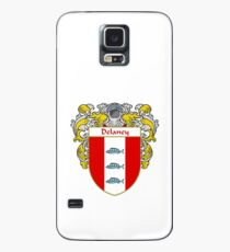 Delaney Coat of Arms/Family Crest Case/Skin for Samsung Galaxy