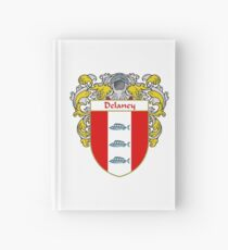 Delaney Coat of Arms/Family Crest Hardcover Journal