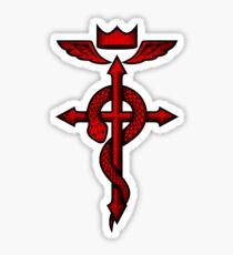 Fullmetal Alchemist Flamel Sticker