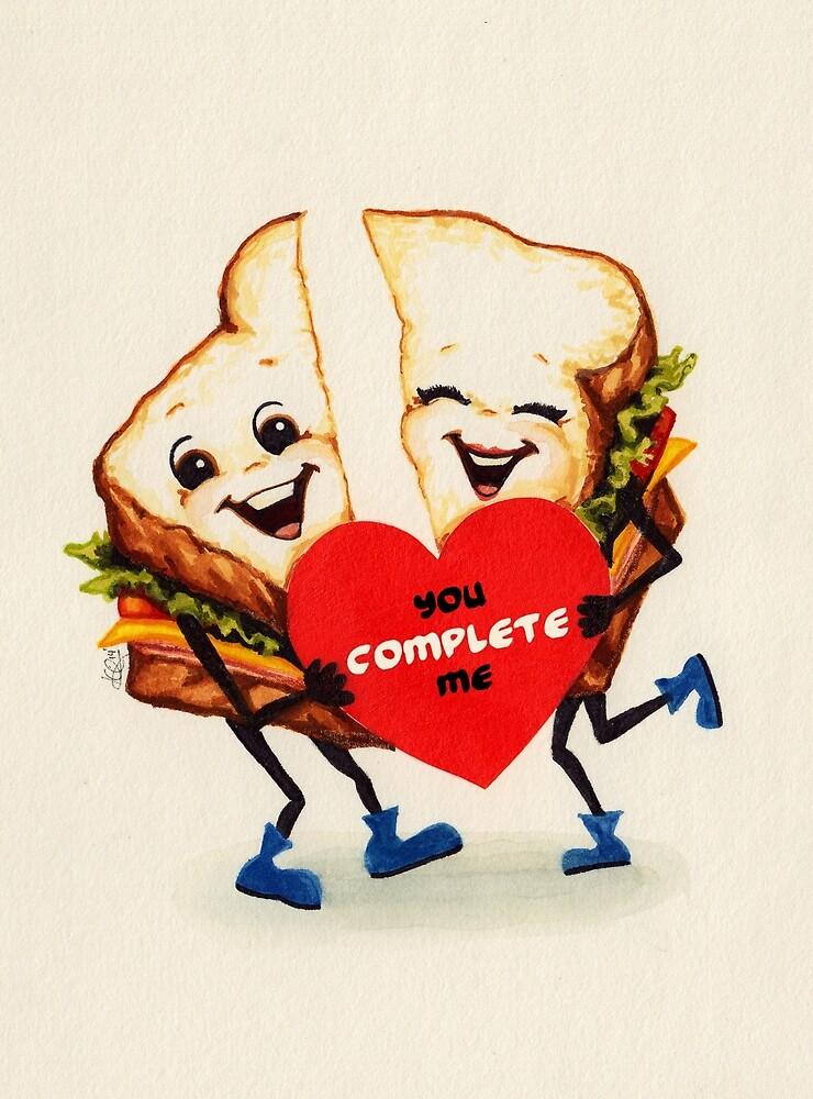 Sandwich Valentine by Kelly  Gilleran