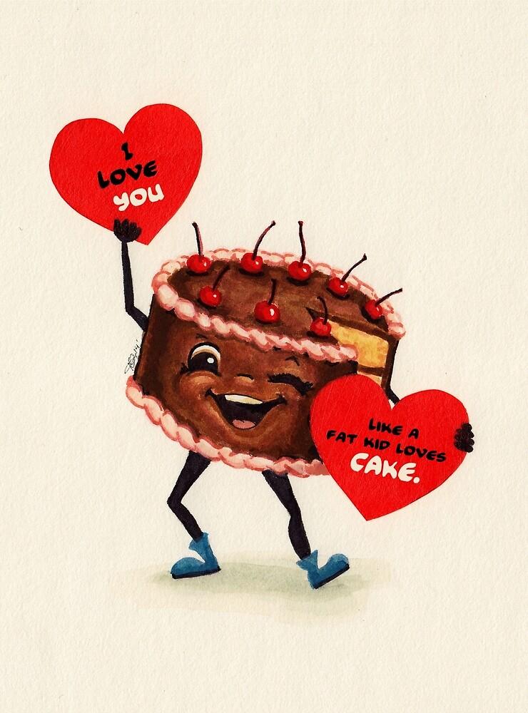 Cake Valentine by Kelly  Gilleran