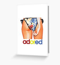 The Stone Roses Adored Derriere Greeting Card