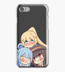 Konosuba! - Aqua, Megumin, Darkness iPhone Case/Skin