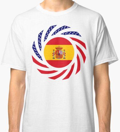 Spanish American Multinational Patriot Flag Series Classic T-Shirt