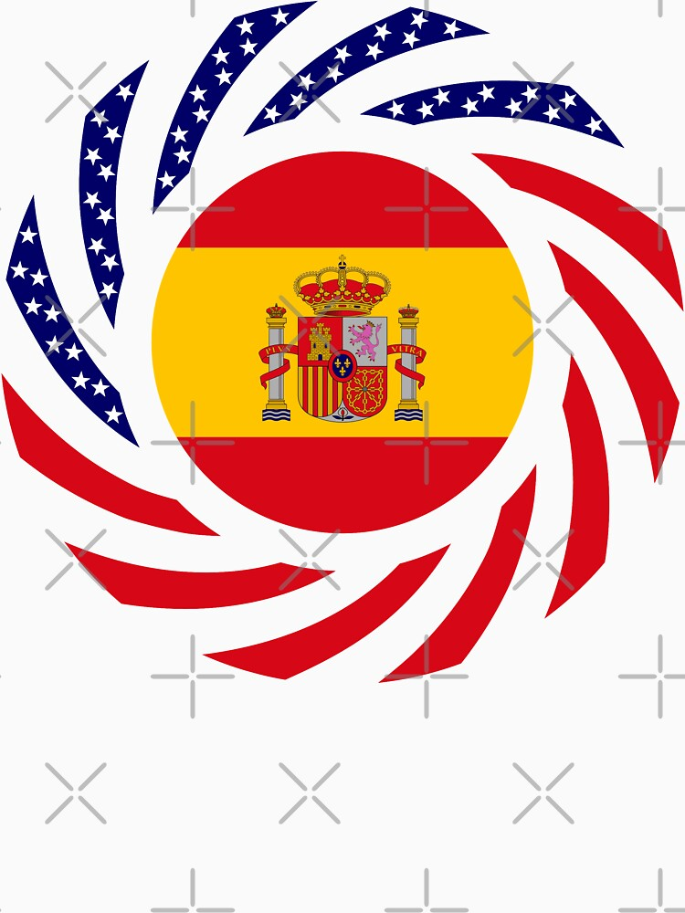 Spanish American Multinational Patriot Flag Series by carbonfibreme