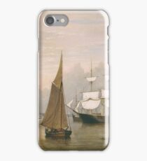 Fitz Henry Lane - Boston Harbor  iPhone Case/Skin