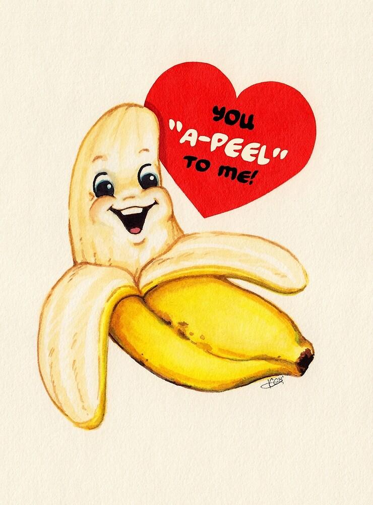 Banana Valentine by Kelly  Gilleran