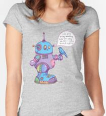 I was going to say something cute and witty...  Women's Fitted Scoop T-Shirt