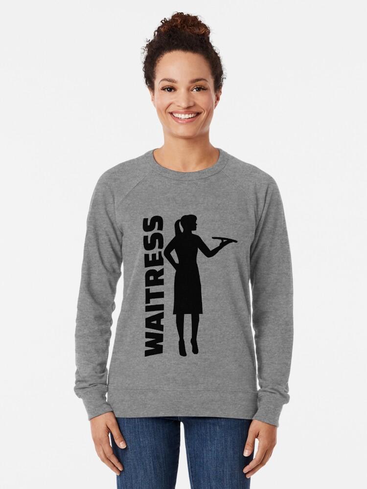 Alternative Ansicht von Kellnerin Leichter Pullover