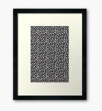Fun Pattern Framed Print