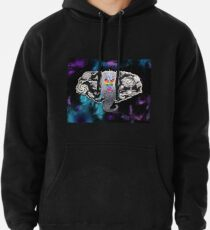 b5621db1a Rainbow Galaxy Elephant Abstract Space Dotwork Surrealism Pullover Hoodie