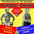 Trump vs Sanders Debate by EyeMagined