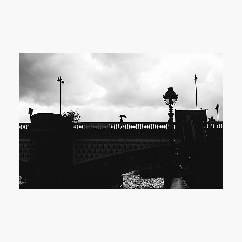 BLACKFRIARS BRIDGE, LONDON - 2013 Photographic Print