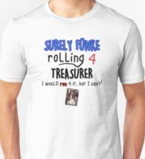 Arrested Development - Surely Funke Rolling for Treasurer Unisex T-Shirt