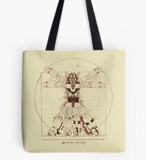 Voltruvian Man Tote Bag