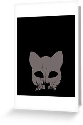 cat mask by catnipinthepark