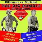 The Big Rumble: Sanders vs Trump by EyeMagined