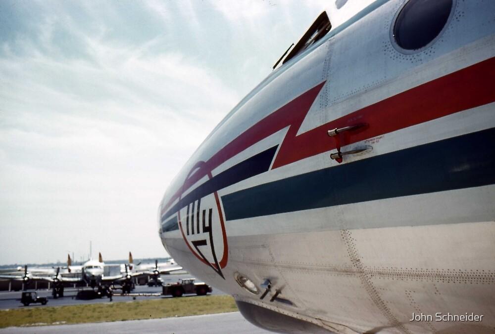 Nose Art Tu-114 by John Schneider