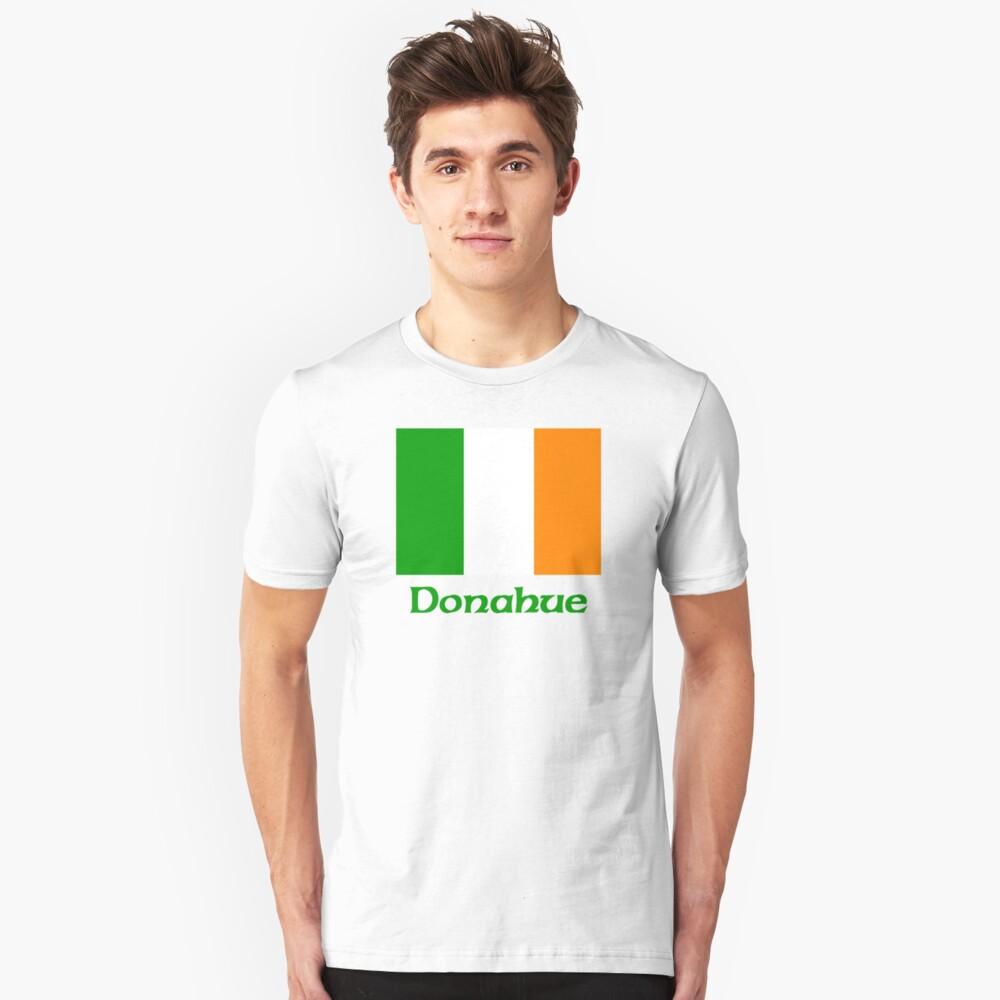 Donahue Irish Flag Unisex T-Shirt Front