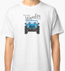 Wander (blue) Classic T-Shirt