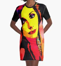 PJ HARVEY POP ART Graphic T-Shirt Dress