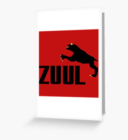 ZUUL Greeting Card