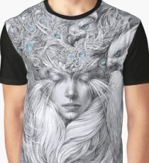 Fairy fairy with white hawks Graphic T-Shirt
