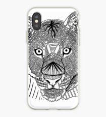 Lioness Doodle iPhone Case