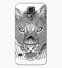 Lioness Doodle Case/Skin for Samsung Galaxy