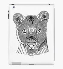 Lioness Doodle iPad Case/Skin