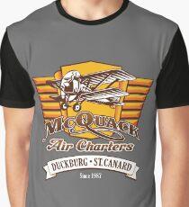McQuack Air Charters Graphic T-Shirt
