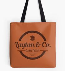 Layton & Co. Classic Puzzles Tote Bag