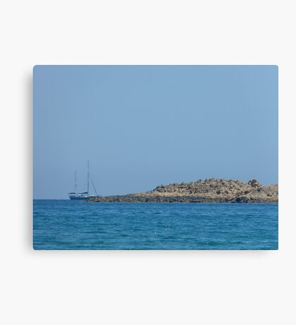 Island rest Canvas Print
