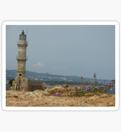 Chania Lighthouse Sticker