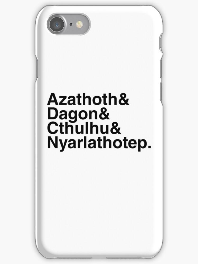 Azathoth&... (Alternate Black Version) by Ryan Sawyer