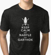 Keep Calm and Narfle the Garthok Tri-blend T-Shirt