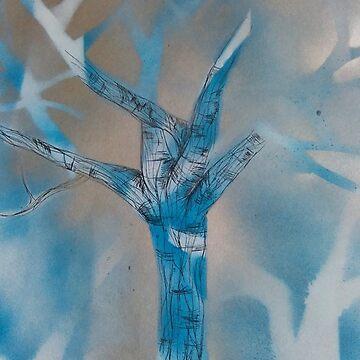 Blue tree by EMSART95