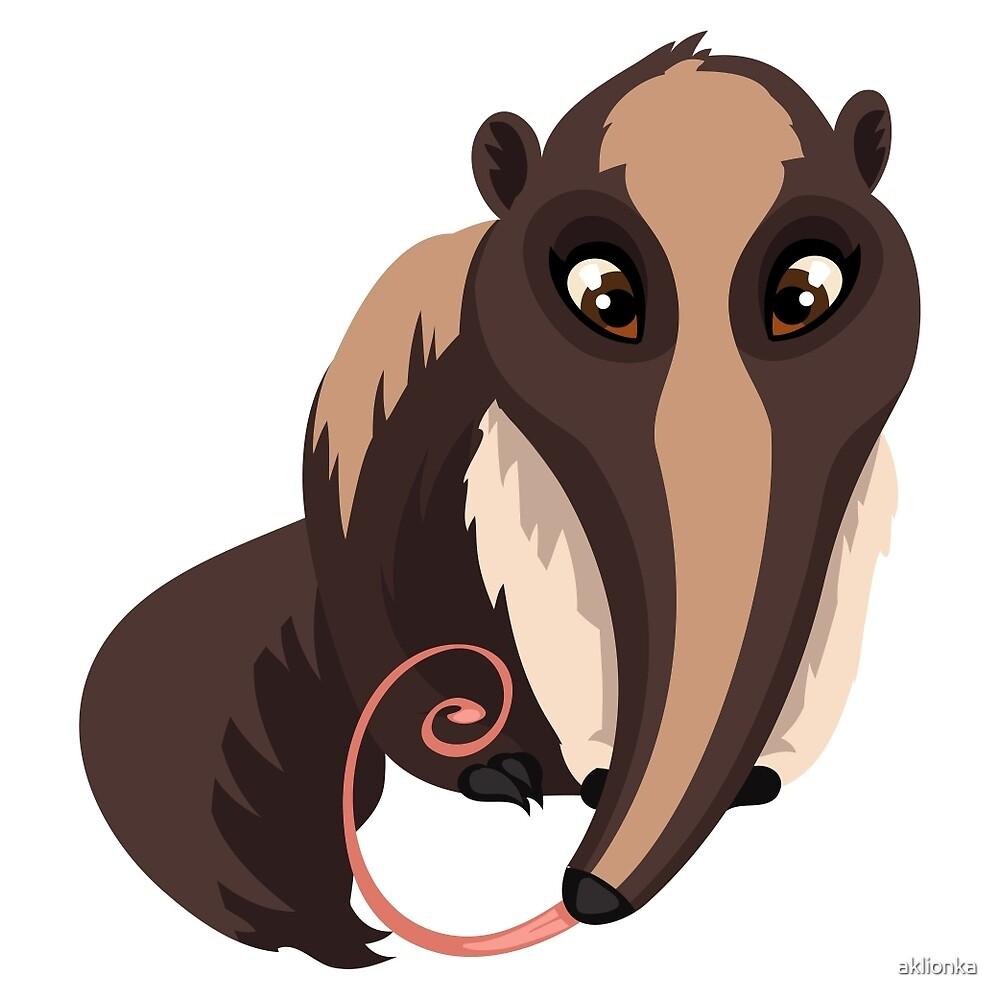 Anteater by aklionka