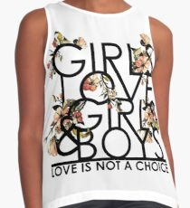GIRLS/GIRLS/BOYS Contrast Tank