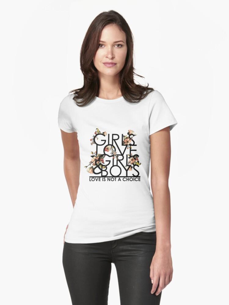 GIRLS/GIRLS/BOYS Womens T-Shirt Front